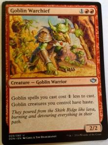 28 goblin warchief