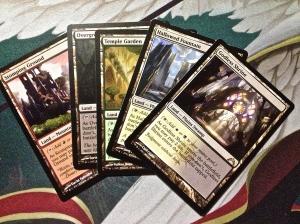4 Shock Lands