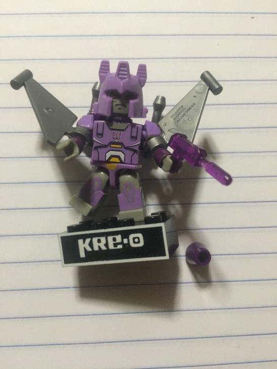 assembled bot laid flat